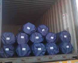 8100 Ton Line Pipe Export to Kuwait