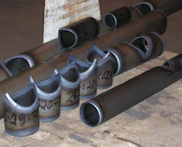 Steel Pipes Beveling Services